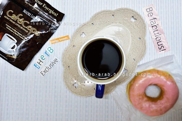 فوائد قهوة فطر الريشي العضوية
