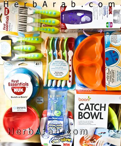 ادوات طعام للاطفال جربر