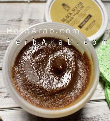 فوائد ماسك السكر الاسود الكوري